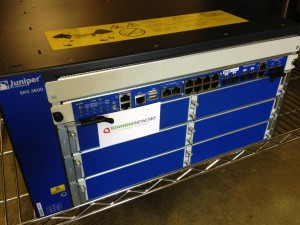 Used Juniper SRX3600 Router