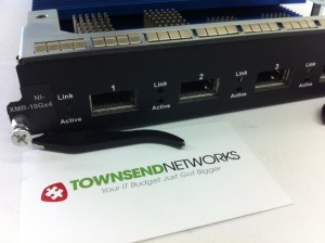 Used Brocade XMR-10Gx4 Module. Buy. Sell. Townsend Networks